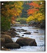 Adirondack Fall Stream 2 Acrylic Print