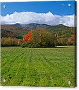 Adirondack Mountains, Upper State New Acrylic Print