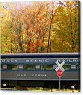 Adirondack Scenic Railroad Acrylic Print