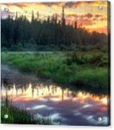 Adirondack Sunrise Acrylic Print