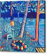 Adirondacks at Rangeley Lake Acrylic Print