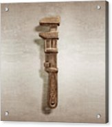 Adjustable Wrench Left Face Acrylic Print