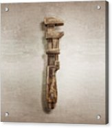Adjustable Wrench Right Face Acrylic Print