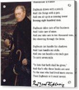 Admiral Evans Acrylic Print