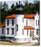 Admirality Head Lighthouse Acrylic Print