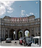 Admiralty Arch Acrylic Print