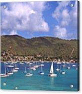 Admiralty Bay Acrylic Print by Thomas R Fletcher