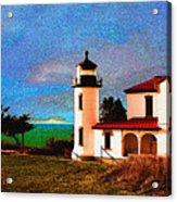 Admiralty Head Lighthouse Dp15 Acrylic Print
