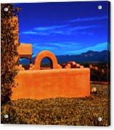 Adobe At Sunset Acrylic Print
