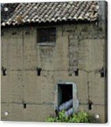 Adobe Building In Otavalo Acrylic Print