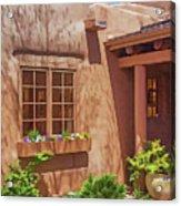 Adobe Gallery, Santa Fe Acrylic Print