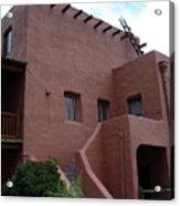Adobe House At Red Rocks Colorado Acrylic Print