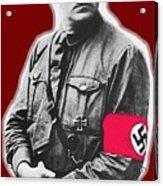 Adolf Hitler Crossed Hands Circa 1934-2015 Acrylic Print