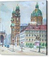 Adolf Hitler Painting Ordensplatzcu Acrylic Print