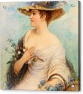 Adolphe Philippe Millot Acrylic Print