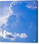 Adoration Of The Heaven Above Acrylic Print