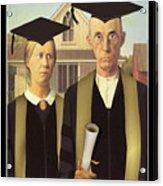 Adult Graduates Acrylic Print