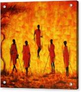 Adumu Acrylic Print