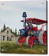 Advance Rumely Steam Traction Engine Acrylic Print