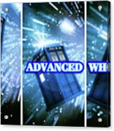 Advanced Whovians Alt Acrylic Print