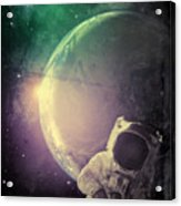 Adventure In Space Acrylic Print