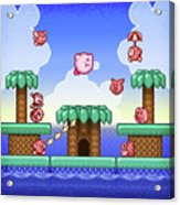 Adventure Kirby Acrylic Print