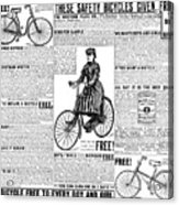 Advertisement, 1891 Acrylic Print