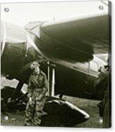 Amelia Earhardt, Ireland, Solo Atlantic Crossing, May 21st, 1932 Acrylic Print
