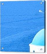 Aegean Blue Acrylic Print
