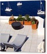 Aegean Wonderland Acrylic Print