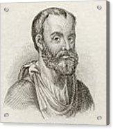 Aelius Galenus Or Claudius Galenus Acrylic Print