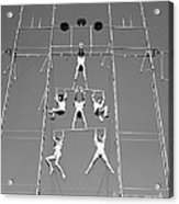 Aerial Circus Act, C.1940s Acrylic Print