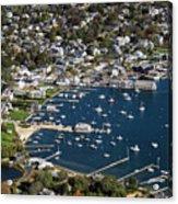 Aerial Edgartown Acrylic Print