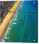 Aerial Over Deerfield Beach Acrylic Print