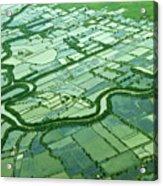 Aerial Shot Acrylic Print