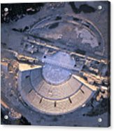 Aerial View Of Ancient Roman Theater Acrylic Print
