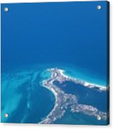 Aerial View Of Cancun Acrylic Print