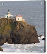 Aerial View Of The Point Bonita Lighthouse California Acrylic Print