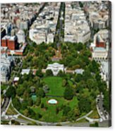 Aerial View Of The White House Acrylic Print