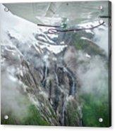 Aerial Waterfall Acrylic Print