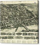 Aero View Of Watertown, Connecticut  Acrylic Print