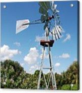 Aeromotor Windmill Acrylic Print