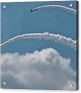 Aeroshell Aerobatics Acrylic Print