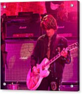 Aerosmith-joe Perry-00008 Acrylic Print