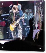 Aerosmith-joe Perry-00056 Acrylic Print