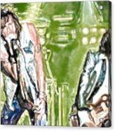 Aerosmith Watercolor Acrylic Print
