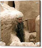 Afghan Child Acrylic Print