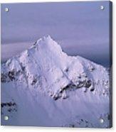 Afley Peak Acrylic Print