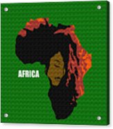 Africa Woman Acrylic Print