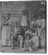 African American Slave Family Acrylic Print by Everett